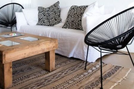 Les fauteuils Acapulco en intérieur comme en extérieur
